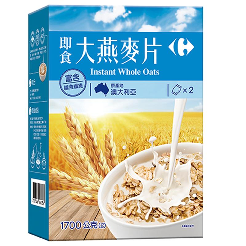 家樂福即食大燕麥片1700g