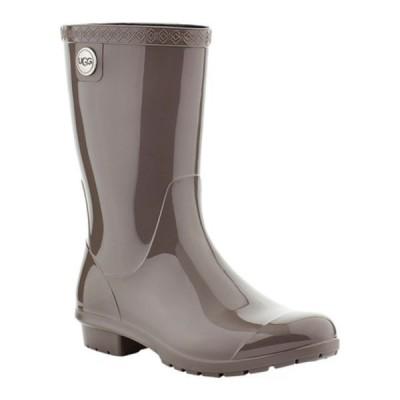 アグ スニーカー シューズ レディース Sienna Rain Boot (Women's) Charcoal PVC