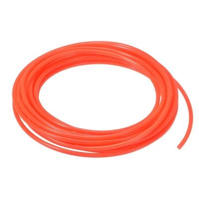 uxcell 空気圧エアチューブ 外径4mm x内径2.5mm 3 Mロング PUポリウレタン 空気圧縮機チューブホース パイプ オレンジ