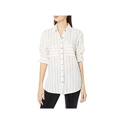 特別価格Billabong レディース Easy Movin 織シャツ US サイズ: Small カラー: ホワイト好評販売中