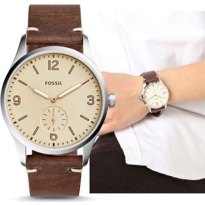 FOSSIL フォッシル VINTAGE 54 ヴィンテージ ブラウンレザー メンズ 腕時計 FS5244