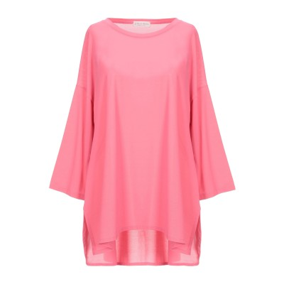 LE TRICOT PERUGIA T シャツ ピンク XXL レーヨン 71% / ナイロン 15% / ポリウレタン 14% T シャツ