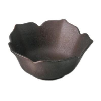小鉢 和食器 / 桔梗型小鉢 備前風 寸法: 11.5 x 11.5 x 5cm