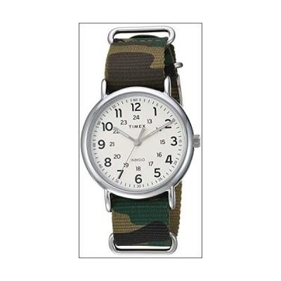 ★新品★Timex メンズ ウィークエンダー 40mm 腕時計 40 mm グリーンカモ/クリーム【並行輸入品】