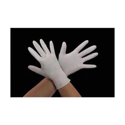 ESCO [M] 手袋(ニトリルゴム/100枚) EA354GA-63