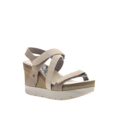 オーティービーティー レディース サンダル シューズ Wavey Platform Wedge Sandals