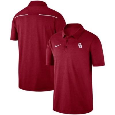 ユニセックス スポーツリーグ アメリカ大学スポーツ Oklahoma Sooners Nike Logo Performance Polo - Crimson Tシャツ