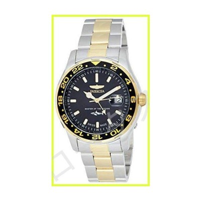 Invicta Men's Pro Diver Quartz Watch with Stainless-Steel Strap, Two Tone, 22 (Model: 25825) 並行輸入品