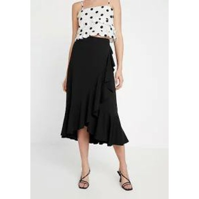 Banana Republic レディーススカート Banana Republic FLOUNCE MIDI WRAP SKIRT - A-line skirt -