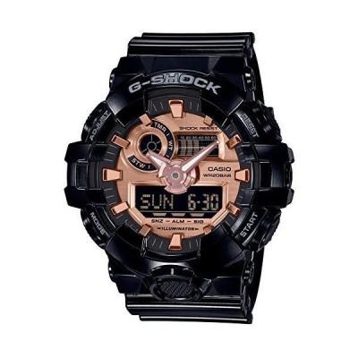 [カシオ] 腕時計 ジーショック BLACK&ROSE GOLD GA-700MMC-1AJF メンズ ブラック