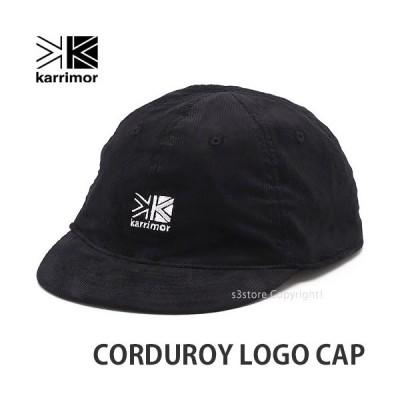 カリマー コーデュロイ ロゴ キャップ KARRIMOR CORDUROY LOGO CAP 帽子 野球帽 小物 BEANIE カラー:BLACK サイズ:ONE SIZE