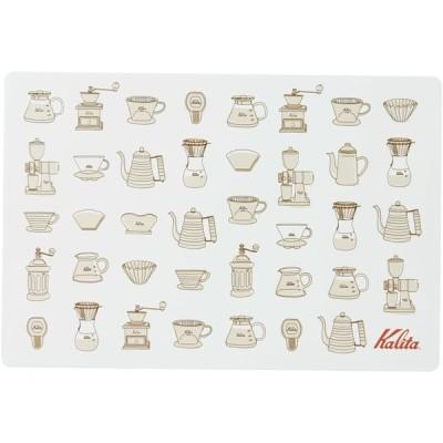 カリタ Kalita コーヒー ランチョンマット 29×43cm ブラウン #71129