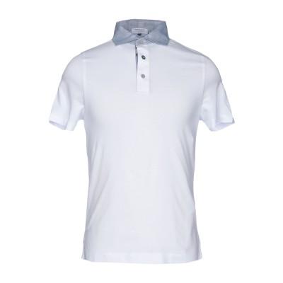 ヘリテージ HERITAGE ポロシャツ ホワイト 46 コットン 95% / ポリウレタン 5% ポロシャツ