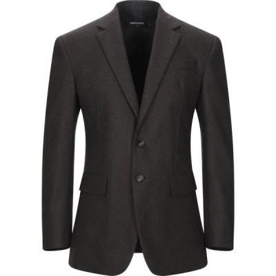 ディースクエアード DSQUARED2 メンズ スーツ・ジャケット アウター blazer Dark brown
