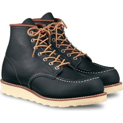 レッドウィング RED WING メンズ ブーツ モックトゥ シューズ・靴 6 Inch Moc Toe Boot Navy Portage Leather