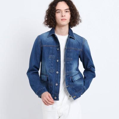 デッサン Dessin 12OZデニムジャケット (ブルー)