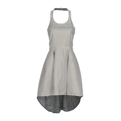 ジジル JIJIL ミニワンピース&ドレス ホワイト 40 コットン 44% / ポリエステル 32% / アセテート 24% ミニワンピース&ドレス