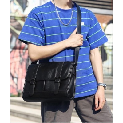 Fun & Daily / F&D : Double Belt Shoulder Bag MEN バッグ > ショルダーバッグ