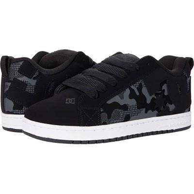 ディーシーシュー Court Graffik メンズ スニーカー 靴 シューズ Black/Camo Print