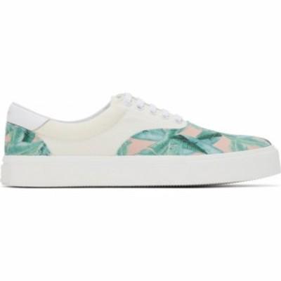アミリ Amiri メンズ スニーカー シューズ・靴 Off-White Banana Leaf Sneakers Supplier Color: Green/Peach/Natural