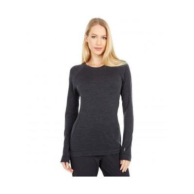 Smartwool スマートウール レディース 女性用 ファッション アクティブシャツ Merino 250 Base Layer Crew - Charcoal Heather