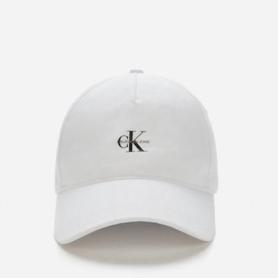 カルバンクライン Calvin Klein Jeans レディース キャップ 帽子 Logo Cap - White White