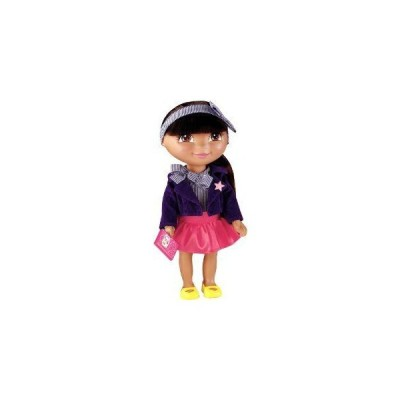 Fisher-Price (フィッシャープライス) Dora The Explorer Dress Up Collection School Time Fashion ドー