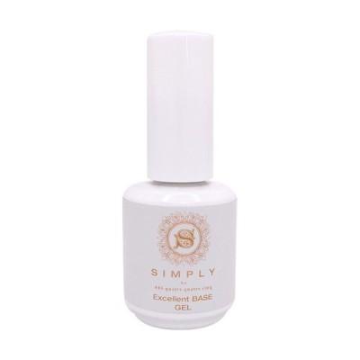 シンプリー SIMPLY エクセレントベースジェル 15ml ベースジェル/アクリル