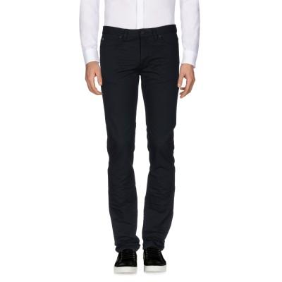 ランバン LANVIN パンツ ブラック 36 コットン 99% / ナイロン 1% パンツ