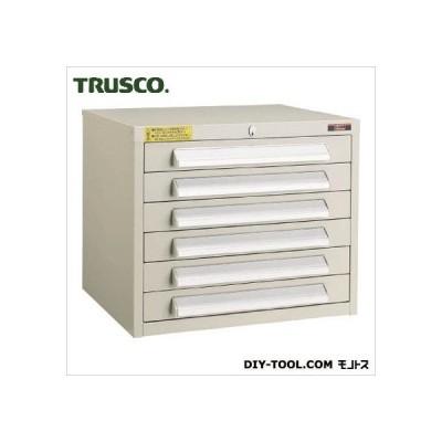 トラスコ(TRUSCO) WLVR型キャビネット500X412X420引出6段ネオグレ NG 515 x 458 x 458 mm WLVR-421