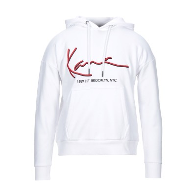 KARL KANI スウェットシャツ ホワイト XS コットン 70% / ポリエステル 30% スウェットシャツ