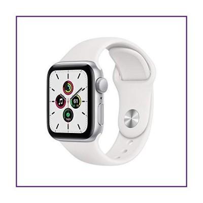 Apple Watch SE (GPS、40mm) - シルバーアルミニウムケース ホワイトスポーツバンド付き【並行輸入品】