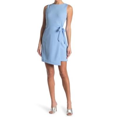 タッシュプラスソフィー レディース ワンピース トップス Sleeveless Wrap Skirt Dress CHAMBRAY