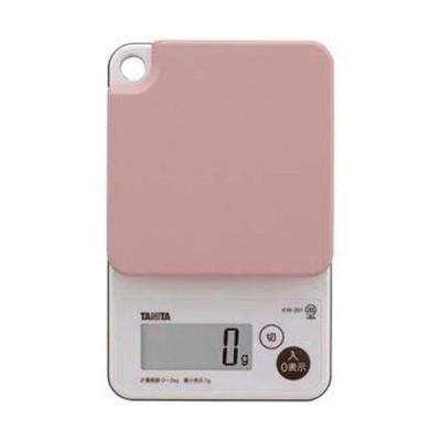 タニタ デジタルクッキングスケール ピンク
