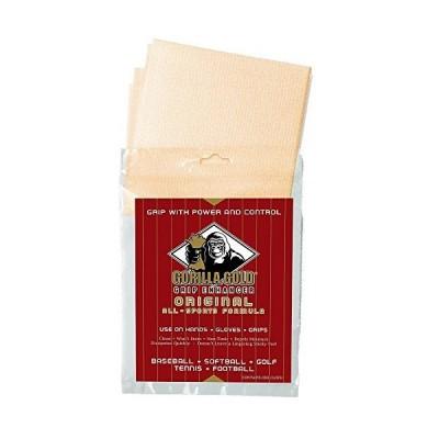 Authentic Sports Shop 12 (1-Dozen) Gold Gorilla Grip Enhancer Cloths with Reselable Bag 並行輸入品
