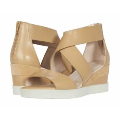 ECCO エコー レディース 女性用 シューズ 靴 ヒール Elevate Wedge Sandal Latte/Latte Calf Leather/Cow Suede【送料無料】