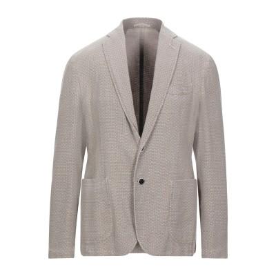 ローダ RODA テーラードジャケット ベージュ 52 コットン 50% / 指定外繊維(ヘンプ) 50% テーラードジャケット