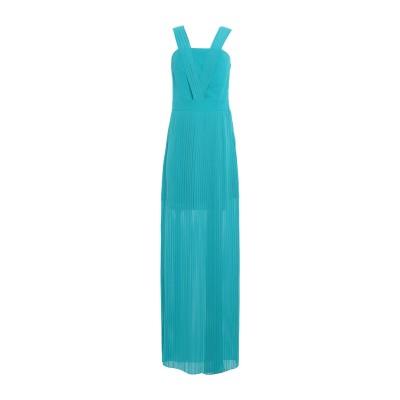 HH COUTURE ロングワンピース&ドレス ターコイズブルー XS ポリエステル 100% ロングワンピース&ドレス