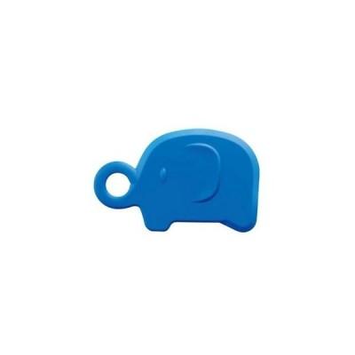 アニマルシリコンスクレーパー ゾウ ブルー 087-1005