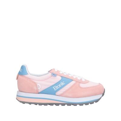 ETONIC スニーカー&テニスシューズ(ローカット) ピンク 36 革 / 紡績繊維 スニーカー&テニスシューズ(ローカット)