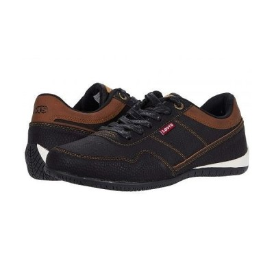 Levi's(R) Shoes リーバイス メンズ 男性用 シューズ 靴 スニーカー 運動靴 Rio 3 Tumbled Wax - Black/Tan