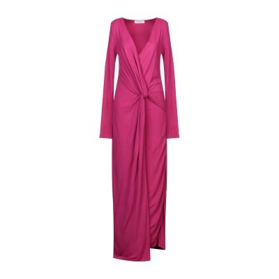 ANNA RACHELE ロングワンピース&ドレス モーブ 44 レーヨン 100% ロングワンピース&ドレス