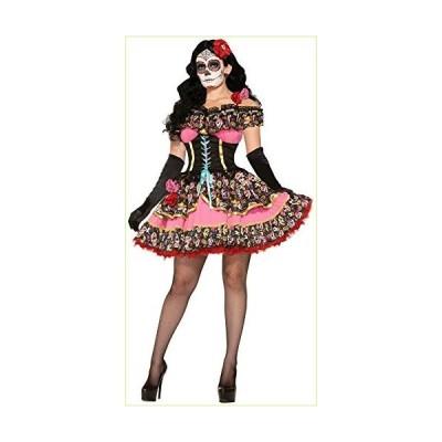 Forum Novelties 死んだセニョリータ衣装マルチの女性の日 M サイズ/L サイズ「並行輸入品」