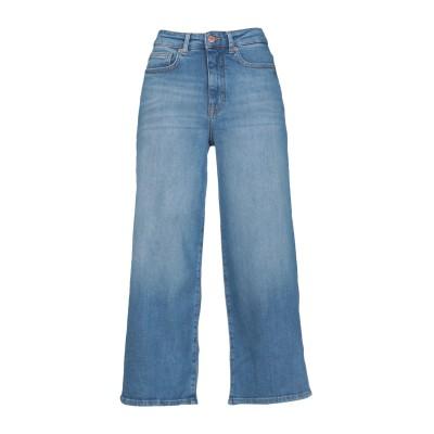ONLY デニムカプリパンツ ブルー 31W-32L コットン BCI 99% / ポリウレタン 1% デニムカプリパンツ