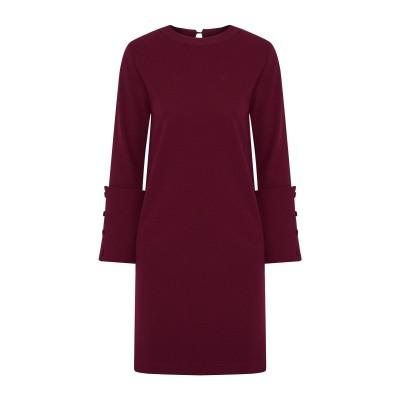 IRIS & INK ミニワンピース&ドレス ボルドー 10 ポリエステル 95% / ポリウレタン 5% ミニワンピース&ドレス