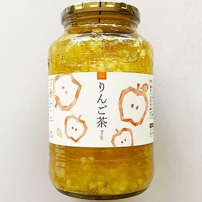 大象 具たっぷり リンゴ茶 950g 瓶タイプ 韓国 食品 食材 料理 蜂蜜 入 お茶 お土産 お中元 果実入お茶 飲物 健康茶 韓国お土産 伝統茶