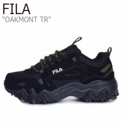 フィラ スニーカー FILA メンズ レディース OAKMONT TR オークモントTR BLACK ブラック 1JM00801-001 FS1RIB3026X シューズ