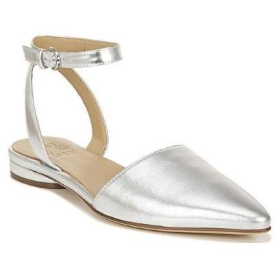 ナチュライザー レディース パンプス シューズ Hartley Ankle Strap Leather and Suede Pointed Toe Flats