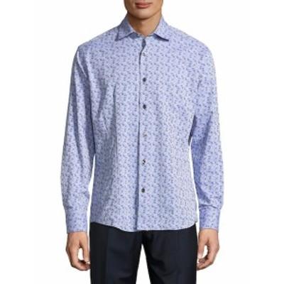ボゴス Men Clothing Printed Button-Down Shirt