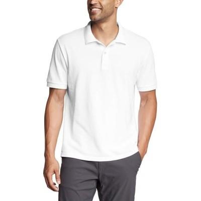 エディー バウアー メンズ シャツ トップス Classic Field Pro Short Sleeve Polo Shirt - Tall